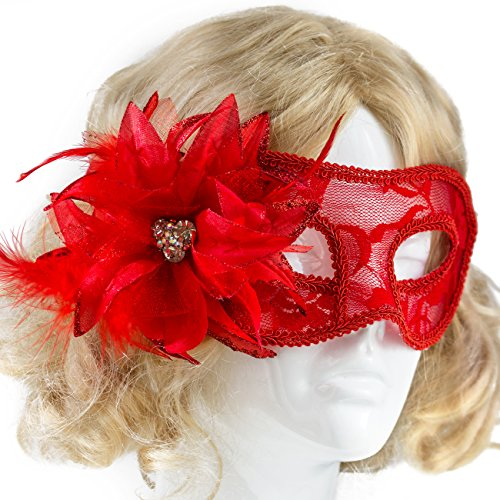 Halloween Masked Ball Costumes - Masquerade Mask Elegant Lace Halloween Costume