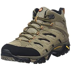 Merrell Men's Moab Mid Gore-Tex Walnut Hiking Boot - 12 D(M) US