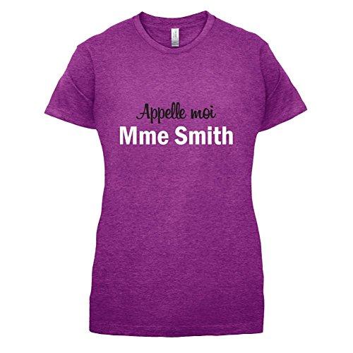 Apelle Moi Madame Smith - Femme T-Shirt - Violet - M