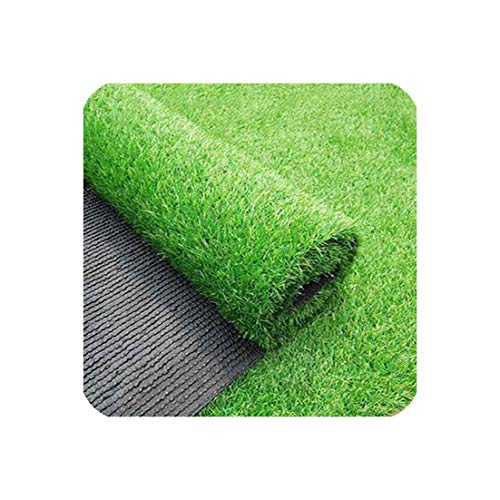 (3/5/8m Outdoor Carpet Realistic Simulation Carpet Floor Mat Green Artificial Lawn Lawn Carpet Fake Turf Moss Home Garden,Light Green,2x1m)
