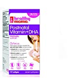 Be Well Rounded! Perfect Postnatal Multi-Vitamin +DHA Softgels. Once Daily to Optimize Nutrition While Breastfeeding. 1 Month
