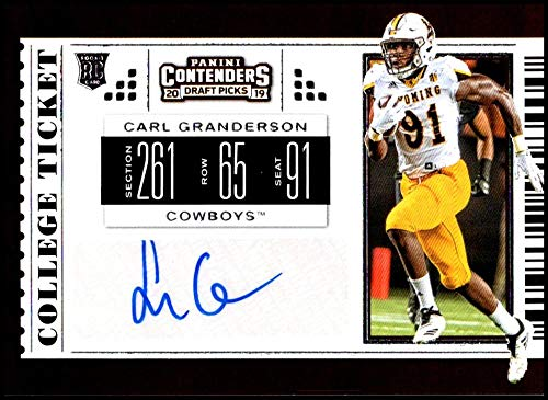 hot sale online 200fb ab29f Amazon.com: 2019 Panini Contenders Draft Tickets College ...