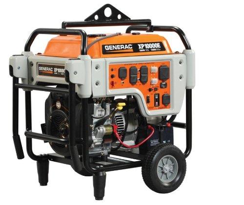 10,000 Watt Gasoline Electric Portable Generator (Generac Generators 8000 Watt)