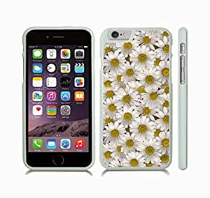 iStar Cases? iPhone 6 Plus Case with Camomiles, Photo, Close-up , Snap-on Cover, Hard Carrying Case (White)