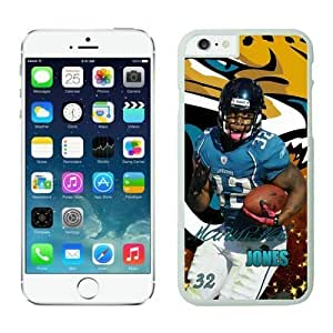 Jacksonville Jaguars Maurice Jones Drew Case Cover For Apple Iphone 5/5S NFL Cases White NIC12809