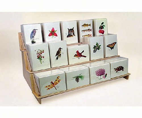 Steven M. Lewers & Associates Extra Large Boxed Note Display (holds 50 units) LEWERS4904W by Steven M. Lewers & Associates (Image #1)