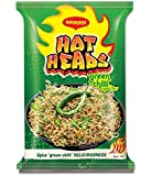 Maggi Hotheads Noodles, Green Chilli, 71g (Pack of 10)