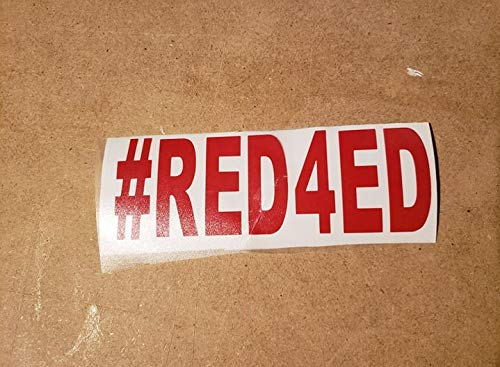 Sticker. #Red4ed decal