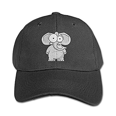 Elephant AN Cute Elephants Pure Color Baseball Cap Cotton Adjustable Kid Boys Girls Hat