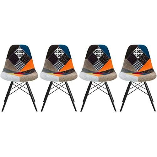 2xhome Set of Four 4 Multi color Modern  : 51qGk9GTqTL from www.whizz.ae size 500 x 500 jpeg 34kB