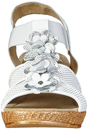 Jana 28304 - Sandalias Mujer Blanco - blanco (White 100)