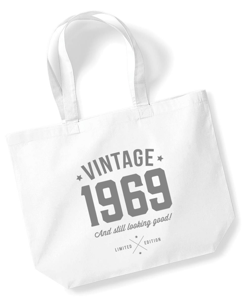50th Birthday, 1969 Keepsake, Funny Gift, Gifts For Women, Novelty Gift, Ladies Gifts, Female Birthday Gift, Looking Good Gift, Ladies, Shopping Bag, Present, Tote Bag, Gift Idea