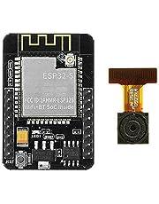 ESP32-CAM kamerautvecklingskort, WiFi + Bluetooth-modul, ESP32 seriell port till WiFi/sakernas internet