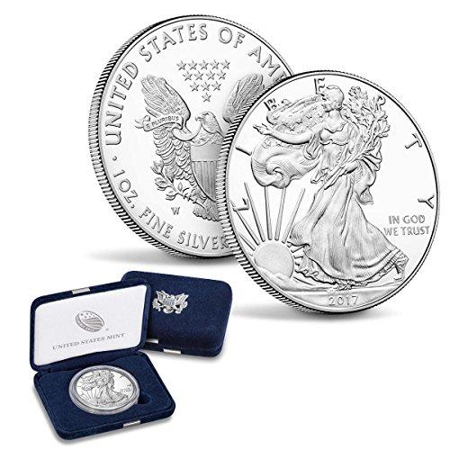 2017 W American Silver Eagle $1 Proof US Mint American Silver Eagle Proof Coin