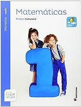 MATEMATICAS MOCHILA LIGERA 1 PRIMARIA SABER HACER