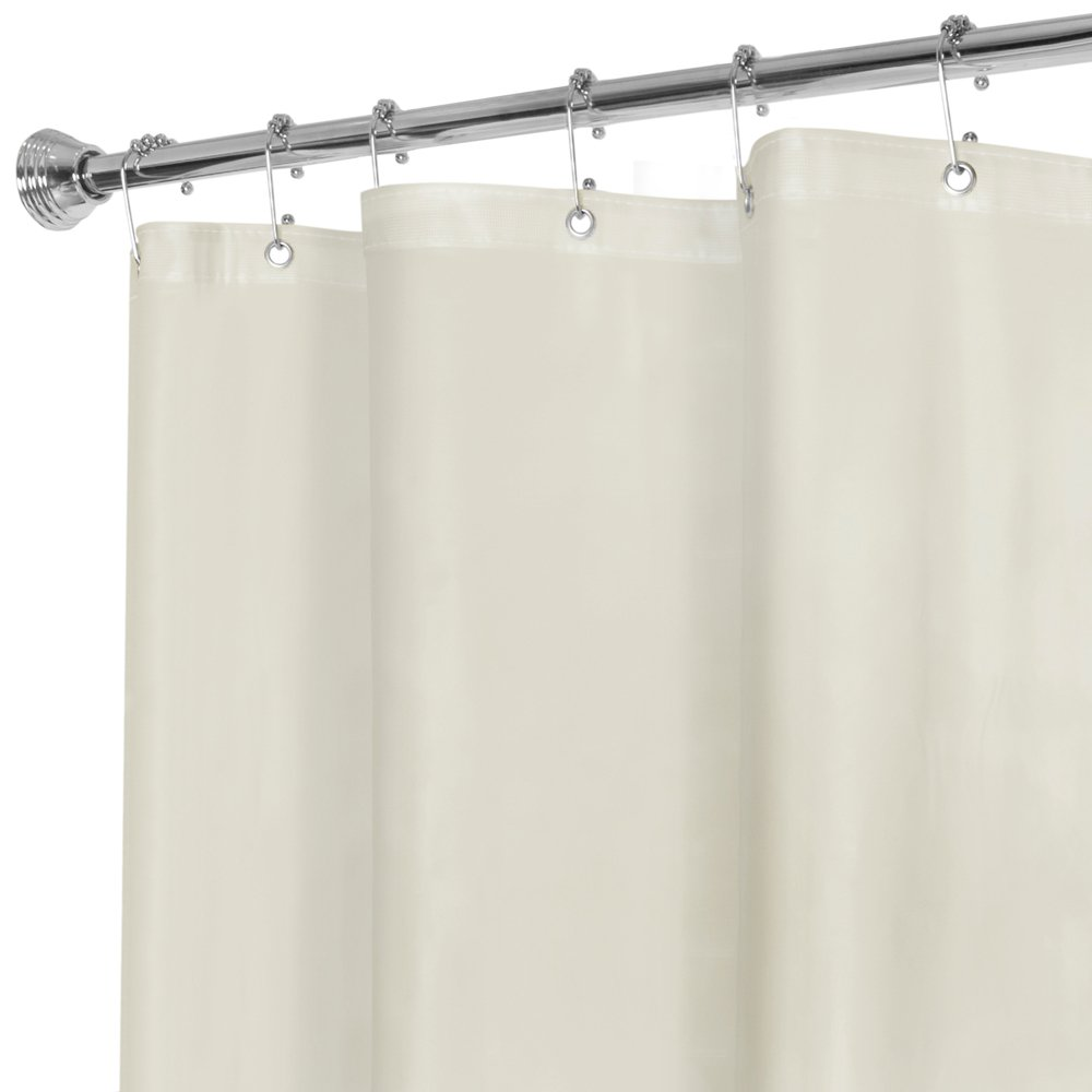 Amazon.com: Maytex No More Mildew 10 Gauge Shower Curtain Liner ...