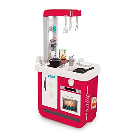 Smoby-310813 Cocina Bon Appetit Color Rosa (310813
