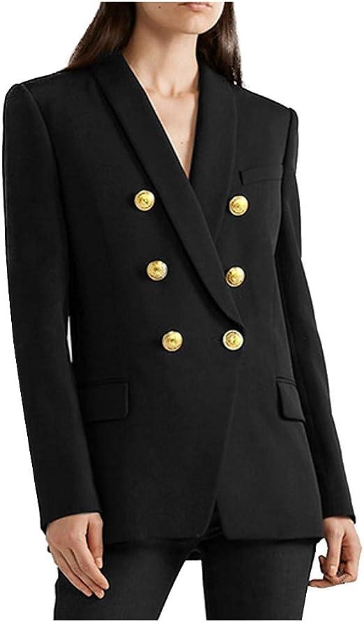 Fashion Elegant Lapel Mid-Length Slim Windbreaker Fall Winter Daily Casual Cardigan Jacket Lazapa Wool Coat for Women