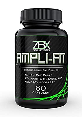 AMPLI-FIT: 60 CT THERMOGENIC FAT BURNER || Supports Metabolism and Suppresses Appetite || Yohimbine, Ketones, and Green Tea Blend || 100% SATISFACTION GUARANTEED || Burn Fat & Get Lean Fast
