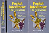 The Pocket Interlinear Old Testament, Jay P. Green, 0913573515
