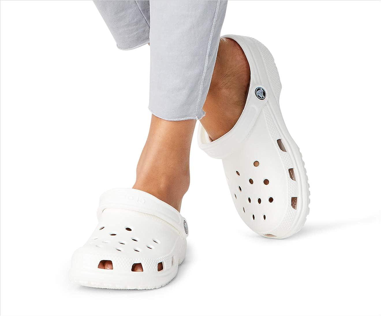 11 M US Women Crocs Classic Clog|Comfortable Slip On Casual Water Shoe Lavender 9 M US Men
