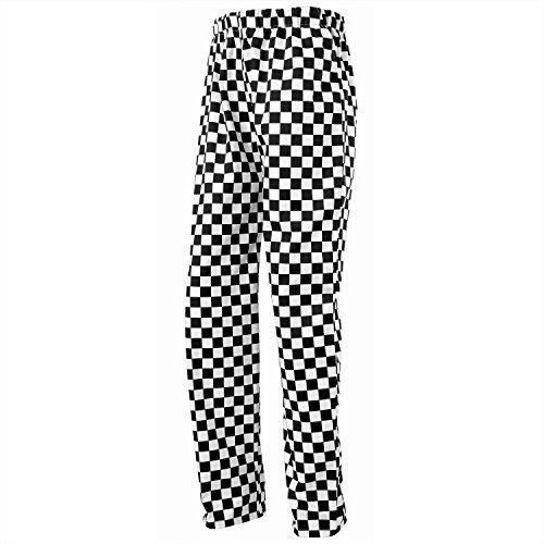 Premier Essential Chefs Trouser - - Black/Grey Fine Stripe - XS by Premier (Image #2)