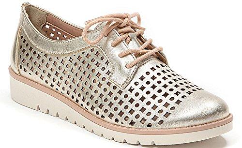 Penelope Français Blu Femmes Perforé Sneaker Mode Oxford