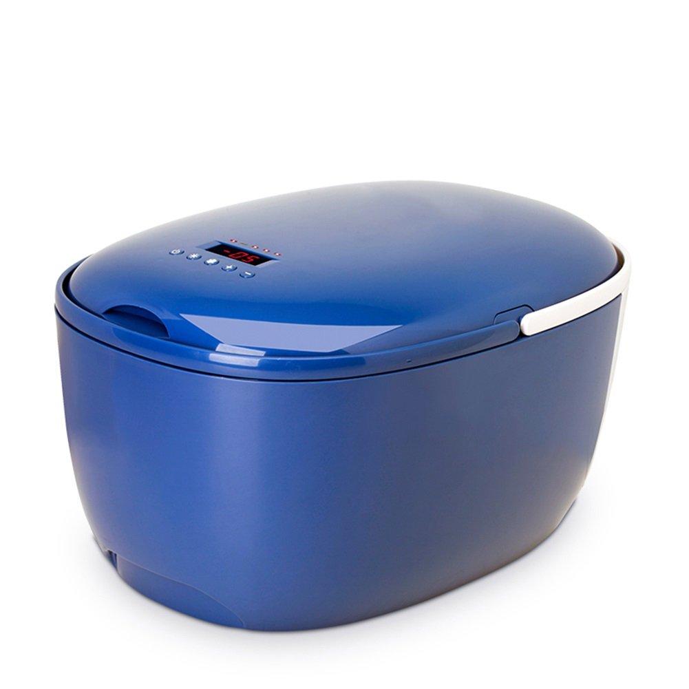 LIQICAI 12L Mini Kühlschrank Auto Camping 12V DC Auto Heizung Kühlung Doppelte Nutzung (Farbe : Blau)