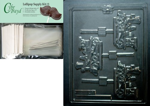 Cybrtrayd 45StK25S-K049 Train Engine Lolly Kids Chocolate Ca