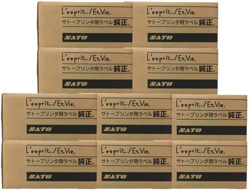 SATO サトー レスプリラベル サーマルラベル 30×50 100巻 白無地 強粘