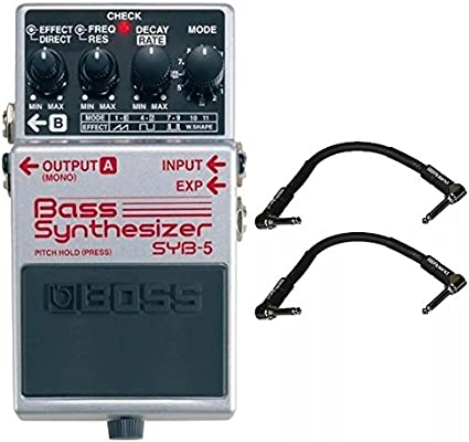 Amazon com: Boss SYB-5 Bass Synthesizer and 2 Roland Black