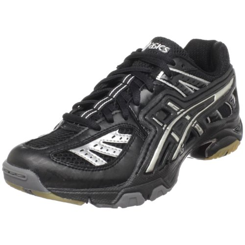 ASICS Women's GEL-Volley Lyte Volleyball Shoe,Black/Silver,13 M US by ASICS