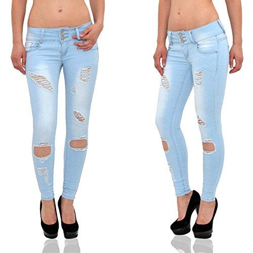 Jean pantalon skinny femmes jean S600 femme bleu femme femme Jeans jeans en jean slim dchirs Z157 rqXrwpA