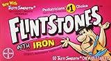 Flintstones Children's Multivitamin Plus Iron Chewable Tablets, 60 Count