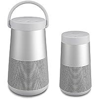 Bose Soundlink Revolve Bluetooth Speakers Bundle - Revolve+ and Revolve (Lux Gray)