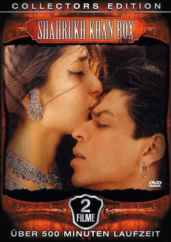 Shahrukh Khan Glanz Box 2 Filme Plus Clips Collectors Edition 3