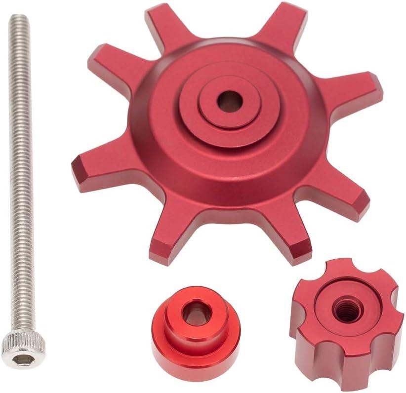 Rouge Nrpfell 1.9 2.2 Pouces Beadlock Roues Moyeu Outil DAssemblage et de D/éMontage de Pneu pour 1//10 RC Crawler Car SCX10 TRX4 Pi/èCes