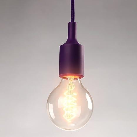 Cgjdzmd Modern Single Head E27 Small Pendant Light Fixture Height Adjule Edison Ceiling Hanging Lamp