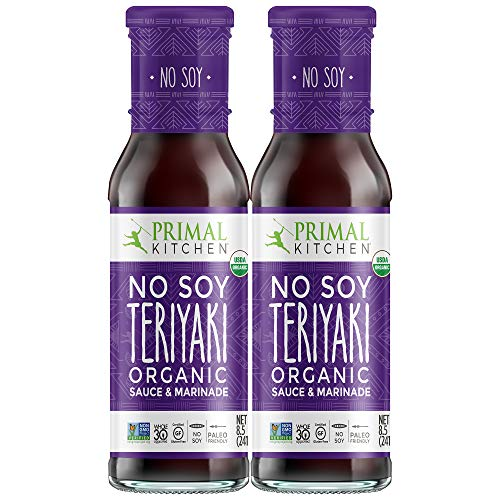 Primal Kitchen No Soy Teriyaki Two Pack Organic Marinade & Sauce - Whole 30 Approved (8.5 ounces)