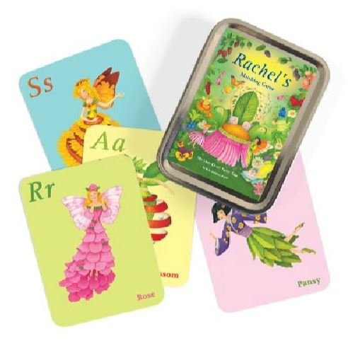 Personalized Matching Memory Game ABC Flash Cards Fairy]()