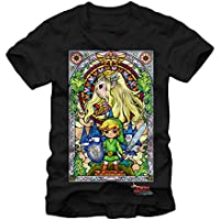 The Legend of Zelda Wind Waker Stained Glass T-shirt