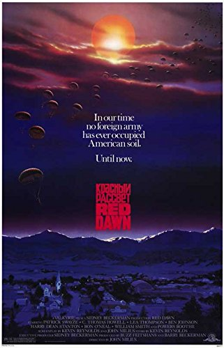 Red Dawn POSTER Movie