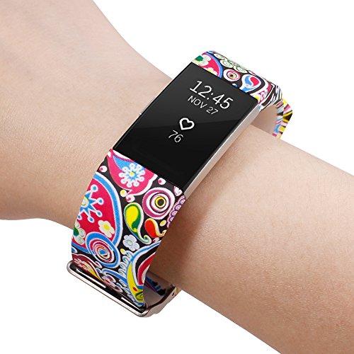 Anti Afunta 16 Bande Élastomère Protecteurs 1 Tpu 2 En Charge Bracelet 23cm Avec Films Protection rayures De Pour 5cm D'écran Fitbit 3 R7rfRq