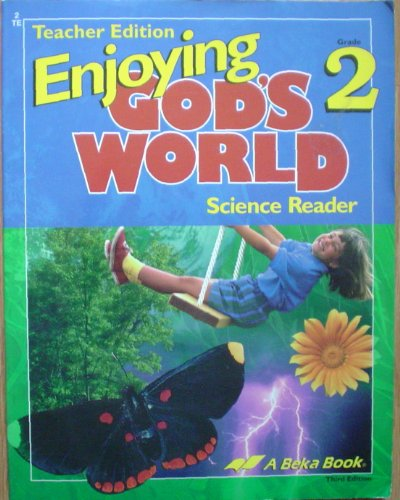 Enjoying God's World 2 Teacher Edition, used for sale  Delivered anywhere in USA