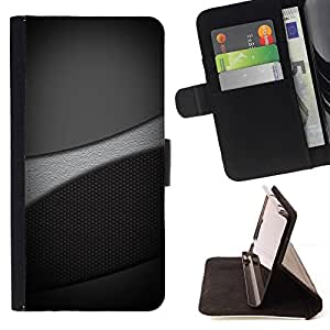 BETTY - FOR Samsung Galaxy S3 Mini I8190Samsung Galaxy S3 Mini I8190 - Grayscale Tones - Style PU Leather Case Wallet Flip Stand Flap Closure Cover