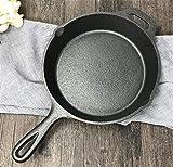 NUO-Z 22cm Cast-Iron Pancake Pan,Non-Stick Crepe Pan