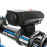 Bike horn,Wallfire Ultra Loud 5 Modes Cycling Horns Bike Bicycle Handlebar Ring Bell Bicycle Horn