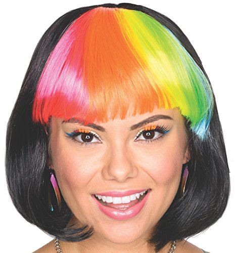 Rubies Costume Womens Party Cutie Adult Black Wig