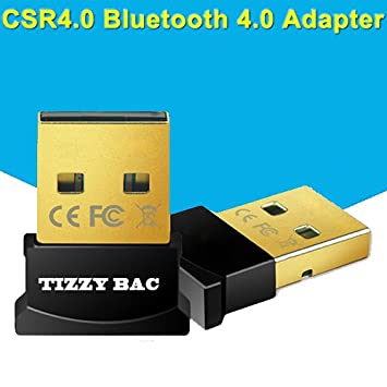 USB Bluetooth 4.0 Baja Energía Micro adaptador (Windows 10, 8.1, 8, 7