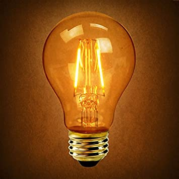 amazon com 25w equal led filament bulb soft white dimmable
